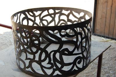 decoupe metal art design