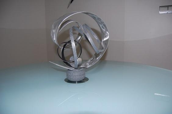 Travaux clients - Sculpture exterieure metal ...